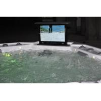 Buy cheap Acrylic Massage SPA Bath Tub with Waterproof Pop-up TV (JCS-19) from wholesalers