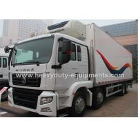ISO 30 tons Howo Refrigerated box truck 6X2 for frozen food transport Manufactures