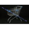 Walmart Four Elevator Castor Small Supermarket Shopping Trolleys Child Seat Manufactures