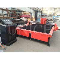 Buy cheap 63 / 100 / 160 / 200A CNC Plasma Metal Cutting Machine for cutting thick metal from wholesalers