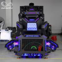 Quality 1 Person 9D VR Simulator Terninator Racing Car Virtual Arcade Games Machines for sale