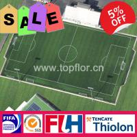 Buy cheap 50mm Sports Artificial Grass for Football Field Turf from wholesalers