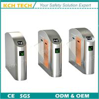 Wholesale Rustproof Brush Motor DC 24V Two Lanes Gate Opener Flap Turnstile from china suppliers