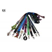 Buy cheap Polyester Retractable Reel Badge Holder Lanyard For Kids Any Color / Logo Available from wholesalers