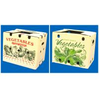 Wholesale strong corrugated vegetable box with holds from china suppliers