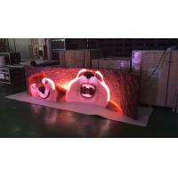 Indoor 3.9 rental stage curved led display 500 X 1000 mm Cabinet High cost-effective Manufactures