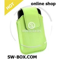 Buy cheap Leather Case Swivel Holster For BlackBerry Bold 9000 (Green) from wholesalers
