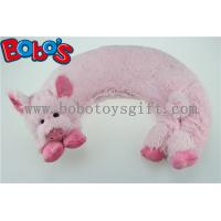 Buy cheap Microwave Heated Plush Pig Neck Pillow Filled with Flaxseeds and Larender from wholesalers