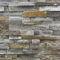 Buy cheap Natural stone , Granite Stacked Stone Pink Quartzite Stone Rock Face Wall cladding from wholesalers