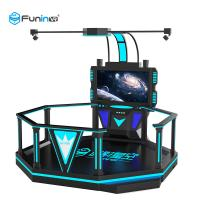 Buy cheap Ride 0.9KW For Amusement Park Black 220V 9D VR Space Walk Virtual Reality Boxing Game Ride 0.9KW For Amusement Park from wholesalers