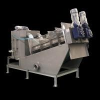 Buy cheap Multi Plate Screw Press Dewatering Machine Sewage Treatment Plant Equipment from wholesalers