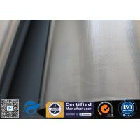 Buy cheap 0.5mm Aluminium Foil / Silver Coated Fabric Fibreglass Fabric For Heat Protection from wholesalers