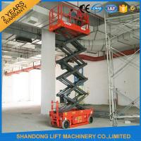 Buy cheap Self - Propelled Scissor Lifts Aerial Lift Scaffolding 12 Months Warranty from wholesalers