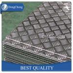 Buy cheap 5 Bar Aluminium Checker Plate , 1060 3003 5052 Aluminum Plate For Truck Body from wholesalers