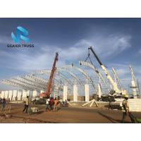 Buy cheap Safe Prefabricated Steel Structure Durable Scaffolding Grandstand Roof Cover System from wholesalers