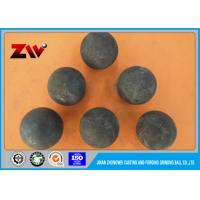 High Hardness Range of 20mm-150mm Forging Grinding Ball for Gold Mine Manufactures