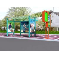Buy cheap Portable Front printing backlit film banner bus shelter advertising exhibit booth displays from wholesalers