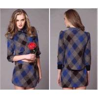 Buy cheap B-urberry plaid coat, two-piece style,womens designer fashion high grade trend winter coat from wholesalers