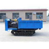 Buy cheap Small Engineering Crawler Transporter , Crawler Dump Truck Left Hand Drive from wholesalers