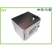 Wholesale Clean Room Pass Through Box Jointless Structure Inside With Germicidal Lamp from china suppliers