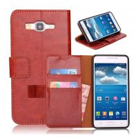 PU Samsung Galaxy Leather Case , Grand Prime G530 Leather Case, Credit Card Holder Manufactures