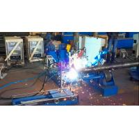 Buy cheap Automatic Base Plate Welding Machine for Conical Pole or Round bar from wholesalers