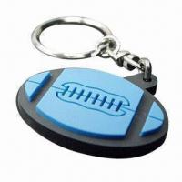 Buy cheap Couple Keychain Made of Silicone or Soft PVC for Promotion, Custom Designs, Sizes, Colors Welcomed from wholesalers