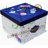 Buy cheap Corrugated Cardboard Food Packaging Boxes , Cardboard Takeaway Food Boxes product