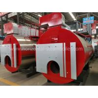Buy cheap Horizontal Natural Gas Fired Steam Boiler 1-20 Ton Per Hour For Laundry Room from wholesalers