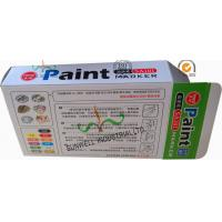 Buy cheap Fancy Cardboard Office Paper Box , Multi Color Painting Marker Pen Packaging Box from wholesalers