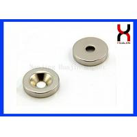 Buy cheap Custom Countersunk Rare Earth Magnets , Strong Countersunk Neodymium Magnets from wholesalers
