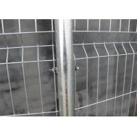 Buy cheap Galvanized And Pvc Coated Double Wire Welded Wire Mesh Fence 50x50mm from wholesalers