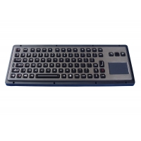 Buy cheap Vandal Proof 85 Keys Marine Backlit Keyboard With Integrated Touchpad from wholesalers