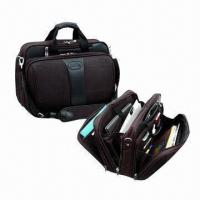 Wholesale Nylon business briefcase with computer sleeve, measures 13x17.5x8 inches from china suppliers