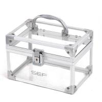 Wholesale Plastic Makeup Storage Boxes Cosmetic Vanity Organizer Transparent from china suppliers