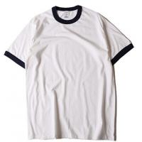 Buy cheap Simple cheap blank crewneck short sleeve plain cotton wholesale tagless t shirts from wholesalers