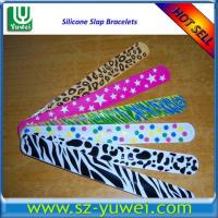 Buy cheap Hot Sell Silicone Slap Bracelets for Promotional Purpose from wholesalers