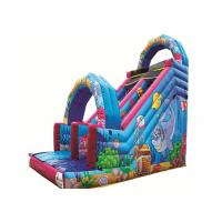 Buy cheap Pirate Ship Inflatable Castle Slide , UV Resistant Outdoor Inflatable Slide from wholesalers