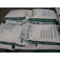E262 Drying Anhydrous Sodium Acetate Powder With Industrial grade Manufactures