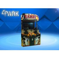 Wholesale 55 LCD RAMBO2 Shooting Arcade Machines For Kids / Light Gun Arcade Cabinet from china suppliers
