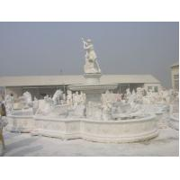 Buy cheap Marble Fountain Statue Sculpture For Indoor Or Outdoor Water Fountains from wholesalers