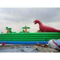 Buy cheap Colorful Dinosaur Theme Inflatable Water Parks For Pool And Lake from wholesalers