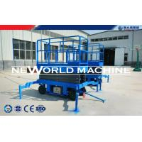 Wholesale Arm Hydraulic Platform Lift Diesel / Electric / Gaslione Mobile Scissor Lift from china suppliers