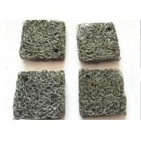 China Custom 304 Stainless Steel Knitted mesh Airbag Filter , Compressed Knitted Wire Mesh on sale