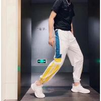 Buy cheap Outdoor Polyester Mens Leisure Pants Sport Trousers Elasticated Waist Breathable from wholesalers