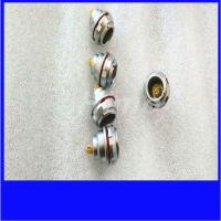 Buy cheap plated chrome 14 16 18 pin waterproof connector ip68 from wholesalers