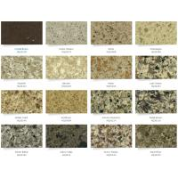 Buy cheap Silestone Caesar Solid Stone Countertops Kitchen Cabinet 95 Up Polish Degree from wholesalers