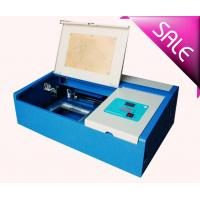 Buy cheap Co2 Mini Laser Cutting And Engraving Machine For Leather With 300 X 200mm Working Size from wholesalers