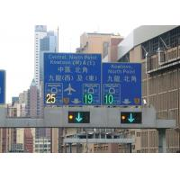 Buy cheap Low Consumption LED Lane Control Signs Free Standing For Driving Signs from wholesalers