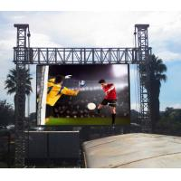 Buy cheap Light Weight Portable Outdoor Led Advertising Display Video Wall For Stage Show from wholesalers